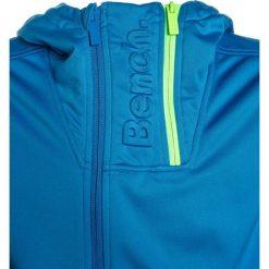 Bench TRICOT DOUBLE ZIP TRACK Kurtka sportowa blue. Niebieskie kurtki dziewczęce sportowe marki Bench, z materiału. W wyprzedaży za 152,10 zł.
