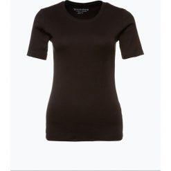 Brookshire - T-shirt damski, czarny. Czarne t-shirty damskie marki brookshire, m, w paski, z dżerseju. Za 49,95 zł.