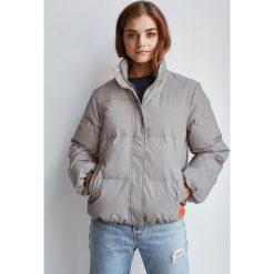 Calvin Klein Jeans - Kurtka puchowa. Szare kurtki męskie jeansowe marki Calvin Klein Jeans, l. Za 1149,00 zł.