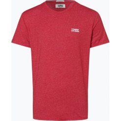 Tommy Jeans - T-shirt męski, czerwony. Niebieskie t-shirty męskie marki OLYMP SIGNATURE, m, paisley. Za 129,95 zł.