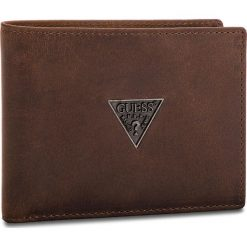 Duży Portfel Męski GUESS - SM2500 LEA20  BRO. Brązowe portfele męskie Guess, ze skóry. Za 259,00 zł.