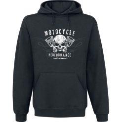 Bluzy męskie: Motocycle Performance Bluza z kapturem czarny