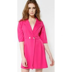 Fuksjowa Sukienka Staying Classy. Różowe sukienki mini marki other, uniwersalny. Za 74,99 zł.