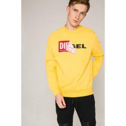 Diesel - Bluza. Brązowe bluzy męskie rozpinane marki LIGNE VERNEY CARRON, m, z bawełny. W wyprzedaży za 319,90 zł.