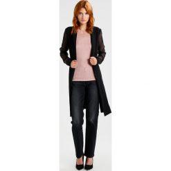 Płaszcze damskie pastelowe: YAS YASHENNA LONG SOFT Krótki płaszcz black