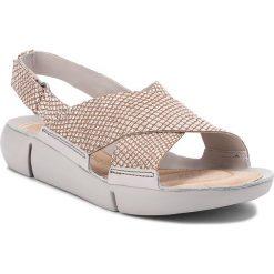 Rzymianki damskie: Sandały CLARKS – Tri Chloe 261312944 Metallic