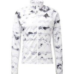 Adidas Performance ADIZERO Kurtka do biegania white. Białe kurtki do biegania męskie adidas Performance, m, z materiału. Za 509,00 zł.