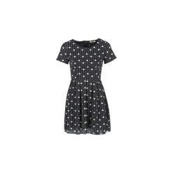 Sukienki krótkie Molly Bracken  MACHOUIK. Czarne sukienki hiszpanki Molly Bracken, m, z krótkim rękawem, mini. Za 175,20 zł.