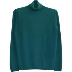 Sweter kaszmirowy w kolorze morskim. Niebieskie golfy męskie marki Ateliers de la Maille, m, z kaszmiru. W wyprzedaży za 545,95 zł.