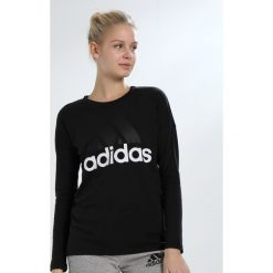 Adidas Performance ESSENTIALS Bluzka z długim rękawem black. Czarne bluzki longsleeves adidas Performance, xl, z bawełny, sportowe. Za 129,00 zł.