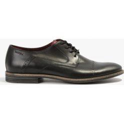 Półbuty czarne Classic. Czarne buty wizytowe męskie marki Wojas, wizytowe, z okrągłym noskiem, na obcasie. Za 215,99 zł.