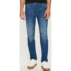 Jeansy regular fit - Niebieski. Niebieskie jeansy męskie regular marki QUECHUA, m, z elastanu. Za 99,99 zł.