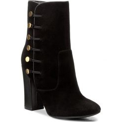 Botki GUESS - Lucena 2 FLCN23 SUE10 BLA. Czarne buty zimowe damskie Guess, z materiału. W wyprzedaży za 489,00 zł.