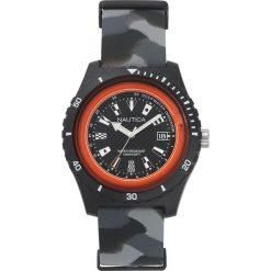 Nautica - Zegarek NAPSRF. Czarne zegarki męskie marki Fossil, szklane. Za 449,90 zł.