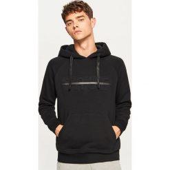 Bluza z kapturem - Czarny. Czarne bluzy męskie rozpinane marki Reserved, l, z kapturem. Za 69,99 zł.