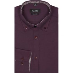 Koszula bexley 2223 długi rękaw slim fit bordo. Szare koszule męskie na spinki marki Recman, na lato, l, w kratkę, button down, z krótkim rękawem. Za 79,99 zł.