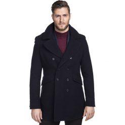 Płaszcz CARMINE PSGS000033. Brązowe płaszcze na zamek męskie marki Cropp, na zimę, l, sportowe. Za 1499,00 zł.
