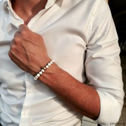Biżuteria i zegarki: Bransoletka męska GOLDEN HERMANO