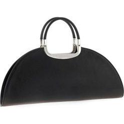 Torebki klasyczne damskie: Skórzana torebka w kolorze czarnym – 41 x 17 x 10 cm