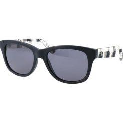 """Okulary przeciwsłoneczne damskie aviatory: Okulary przeciwsłoneczne """"0002/S RIE/Y1"""" w kolorze czarnym"""