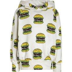 Bluzy chłopięce: Småfolk WITH HOOD AND BURGER Bluza z kapturem cream