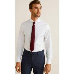 Mango Man - Koszula Didac. Szare koszule męskie na spinki marki S.Oliver, l, z bawełny, z włoskim kołnierzykiem, z długim rękawem. Za 199,90 zł.