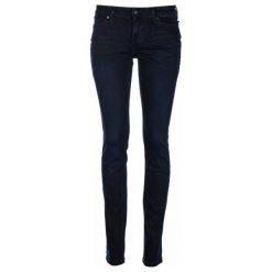 Mustang Jeansy Damskie Jasmin 31/32 Ciemnoniebieski. Niebieskie jeansy damskie marki Mustang, z aplikacjami, z bawełny. Za 349,00 zł.
