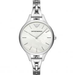 Zegarki damskie: Zegarek EMPORIO ARMANI – Aurora AR11054 Silver/Silver