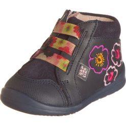 Buciki niemowlęce chłopięce: Skórzane buty w kolorze granatowym do nauki chodzenia