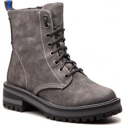 Trapery S.OLIVER - 5-25233-21 Graphite 206. Szare buty zimowe damskie marki S.Oliver, z gumy. Za 229,90 zł.