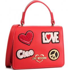 Torebka LOVE MOSCHINO - JC4084PP17LJ0500 Rosso. Czerwone torebki klasyczne damskie Love Moschino, ze skóry ekologicznej. Za 799,00 zł.