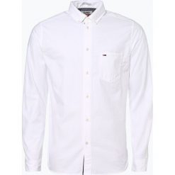Tommy Jeans - Koszula męska – Regular Fit, czarny. Czarne koszule męskie jeansowe Tommy Jeans, l. Za 349,95 zł.