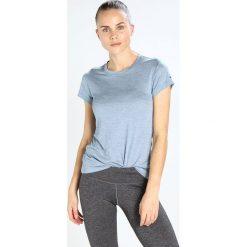 Adidas Performance TIVID Tshirt basic raw grey. Niebieskie topy sportowe damskie adidas Performance, z materiału. Za 179,00 zł.