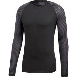 Koszulka do biegania męska ADIDAS TECHFIT ALPHASKIN / CF7275. Czarne koszulki do biegania męskie Adidas, m, z elastanu, climacool (adidas). Za 149,00 zł.