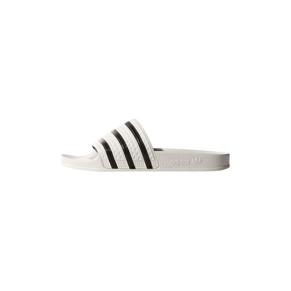 Klapki Damskie Adidas Adilette Obuwie Białe | Online