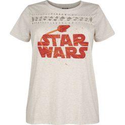 Star Wars Solo: A Star Wars Story - Kessel Group Koszulka damska odcienie beżowego. Brązowe bluzki z odkrytymi ramionami Star Wars, xxl, z motywem z bajki, retro, z okrągłym kołnierzem. Za 62,90 zł.