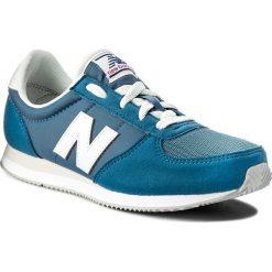 Sneakersy NEW BALANCE - KL220CCY Niebieski. Niebieskie trampki chłopięce New Balance, z materiału, na sznurówki. Za 249,99 zł.