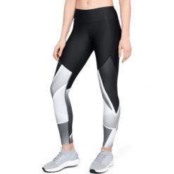 Spodnie damskie: Under Armour Legginsy damskie Balance Q1 Graphic Legging czarne r. XS (1305436-002)
