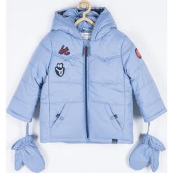 Kurtka. Niebieskie kurtki chłopięce przeciwdeszczowe marki SUPER COOL, z bawełny. Za 179,90 zł.