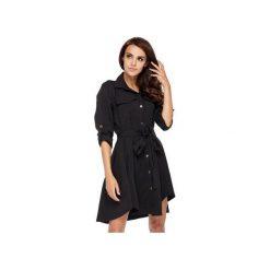 Sukienka Military Chic. Czarne sukienki dzianinowe Ooh la la, do pracy, biznesowe. Za 209,00 zł.