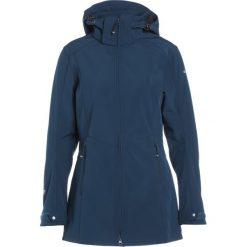 Icepeak LINNEA Kurtka Softshell blue. Niebieskie kurtki damskie softshell marki Icepeak, z elastanu. W wyprzedaży za 284,25 zł.
