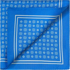 Poszetka 83-7P-101-X10. Niebieskie poszetki męskie Wittchen, wizytowe. Za 59,00 zł.