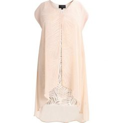 Długie sukienki: Live Unlimited London PALM SEQUIN  Długa sukienka beige