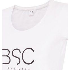 T-shirty damskie: T-shirt damski TSD251 – biały