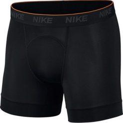 Nike Brief 2ppk Boxer AA2960-010. Czarne bokserki męskie Nike, z bawełny. W wyprzedaży za 129,99 zł.