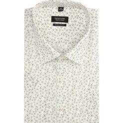 Koszula bexley 2836 krótki rękaw regular fit beż. Szare koszule męskie non-iron marki Recman, m, z długim rękawem. Za 139,00 zł.