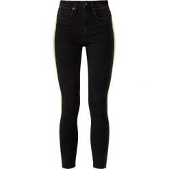Rag & bone MAZIE Jeans Skinny Fit black. Czarne boyfriendy damskie rag & bone, z bawełny. W wyprzedaży za 455,60 zł.