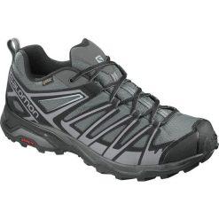 Buty trekkingowe męskie: Salomon Buty męskie X Ultra 3 Prime GTX Magnet/Black/Quiet Shade r. 46 (402461)