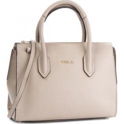 Torebka FURLA - Pin 978701 B BMN1 OAS Vaniglia d. Brązowe torebki klasyczne damskie marki Furla, ze skóry, bez dodatków. Za 1290,00 zł.