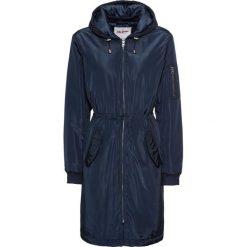 Płaszcz bejsbolówka bonprix ciemnoniebieski. Niebieskie płaszcze damskie bonprix. Za 219,99 zł.
